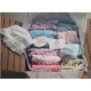 Large Mystery Bundle of Vintage Baby Girl Clothes